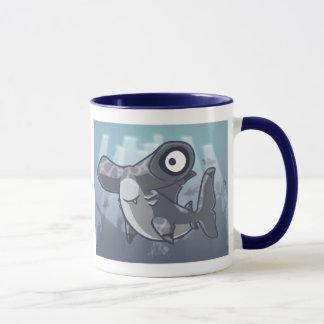 Hammerhai-Haifisch-Tasse Tasse