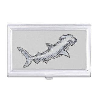 Hammerhai-Haifisch Visitenkarten Dose
