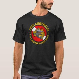 Hammerhai-Kleid Tauchen-Australiens (rd) T-Shirt