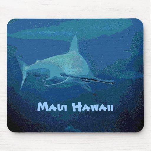 Hammerhai, Maui Hawaii Mousepad
