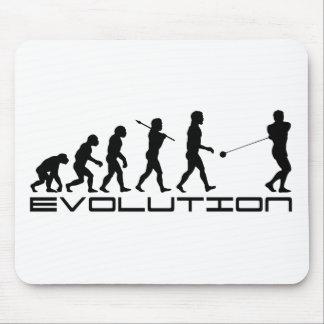 Hammerthrow-Sport-Evolutions-Kunst Mousepad
