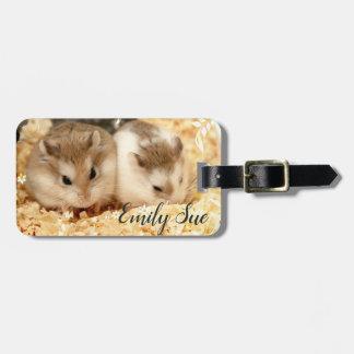 Hammyville - niedlicher Hamster Kofferanhänger