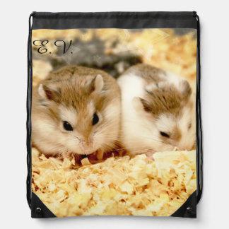 Hammyville - niedlicher Hamster Turnbeutel