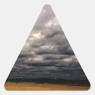 Hampton-Strand-Geschenke Dreieckiger Aufkleber