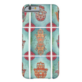 Hamsa Amulett-Blicks-Telefon-Abdeckung Barely There iPhone 6 Hülle