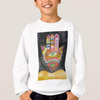 Hamsa Hand-KUNST Sweatshirt