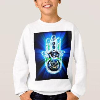Hamsa Handindigo-Energie Sweatshirt