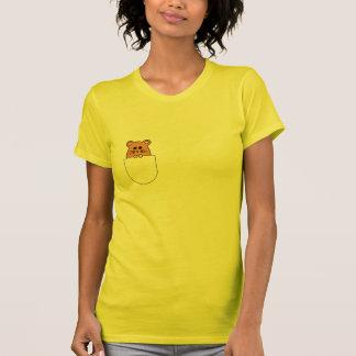 """Hamster """"myham"""" in Ihrem Taschen-T - Shirt (2)"""