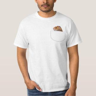 Hamster-Taschen-Kumpel-T - Shirt