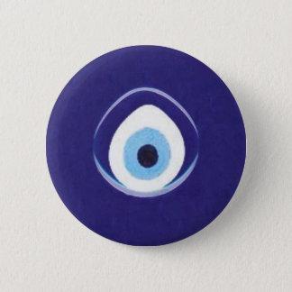 Hamza zum bösen Blick Runder Button 5,7 Cm
