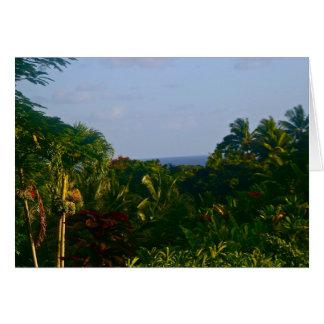 Hana, Maui Karte