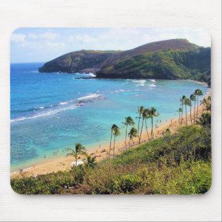Hanauma Bucht, Ansicht Honolulus, Oahu, Hawaii Mousepads
