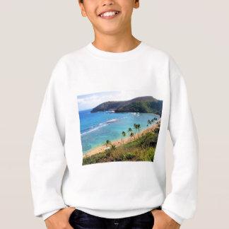 Hanauma Bucht, Ansicht Honolulus, Oahu, Hawaii Sweatshirt
