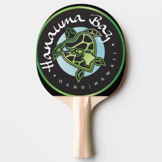 Hanauma Bucht-Hawaii-Insel-Schildkröte Tischtennis Schläger