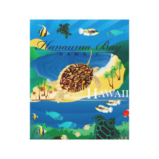Hanauma Bucht Hawaii Leinwanddruck