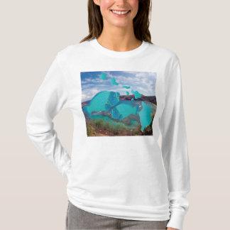 Hanauma Bucht Hawaii - Papageien-Fisch T-Shirt