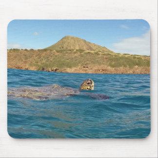 Hanauma Bucht-Hawaii-Schildkröte Mousepad