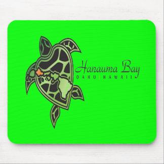 Hanauma Bucht-Hawaii-Schildkröte Mousepads
