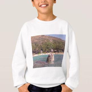 Hanauma Bucht-Hawaii-Schildkröte Sweatshirt