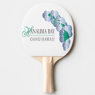 Hanauma Bucht Hawaii Tischtennis Schläger