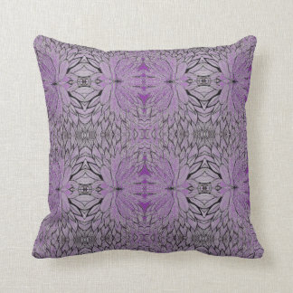 Hand drawing leaves - Throw Pillow Kissen
