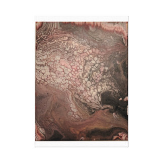 Hand gegossener Acrylentwurfs-Druck 11 x 14 Leinwanddruck