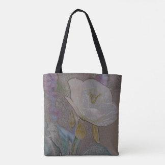 Hand gezeichnete Blumen-Geldbeutel-Taschen-Tasche Tasche