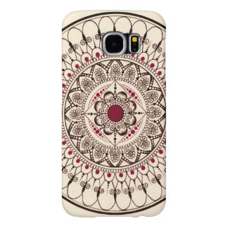 Hand gezeichneter Mandala-Telefon-Kasten