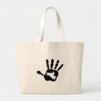 Hand in Hand Jumbo Stoffbeutel