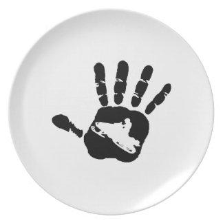 Hand in Hand Melaminteller