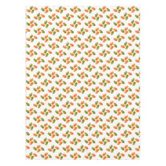 Hand Pattern green orange Tischdecke