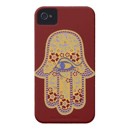 Hand von Fatima hamsa iphone 4 kaum Fall iPhone 4 Hülle