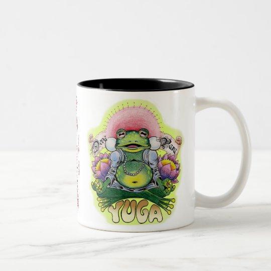hand würfel, Yuga-Frosch, dy Zweifarbige Tasse