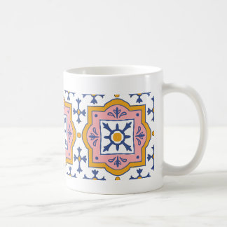 Hand-Zeichnen Fliesen Tassen-der Vintagen Kaffeetasse