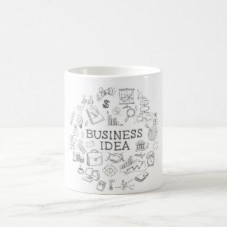 Hand zeichnen kaffeetasse