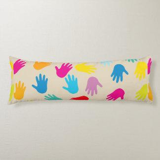 Handauf der ganzen Welt Körperkissen