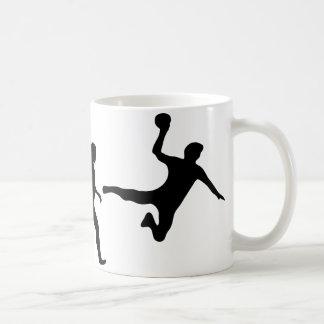 Handball-Evolution Kaffeetasse