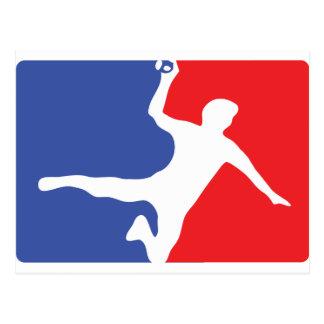 Handball-Legendenikone Postkarten