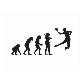 Handball Postkarte