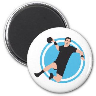 handball runder magnet 5,1 cm