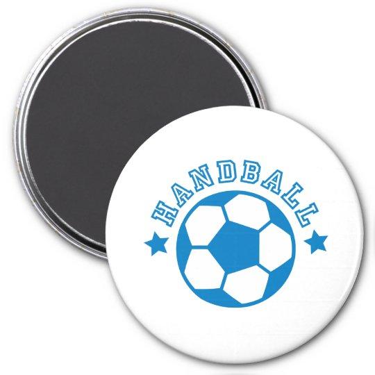handball runder magnet 7,6 cm