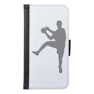 Handball Samsung Galaxy S6 Geldbeutel Hülle