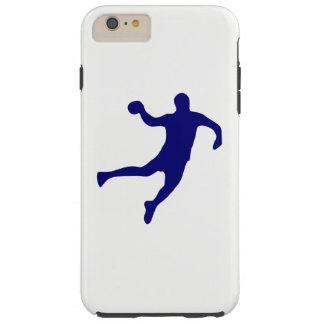 Handball-Silhouette Tough iPhone 6 Plus Hülle