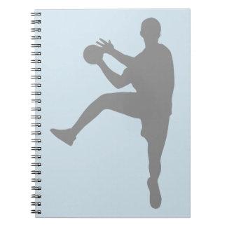 Handball Spiral Notizblock