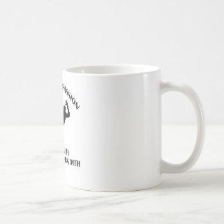 Handballentwurf Kaffeetasse