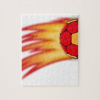 Handballkomet Foto Puzzle