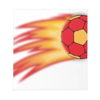 Handballkomet Notizblöcke