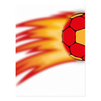 Handballkomet Postkarte