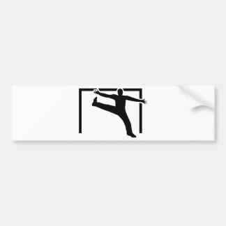 Handballtorhüter Autoaufkleber