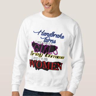 Handbremse gegen bloßen Power Sweatshirt